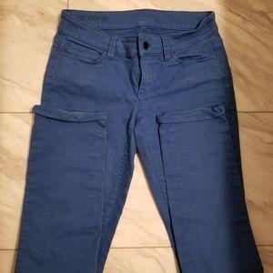 Ann taylor modern fit blue jeans